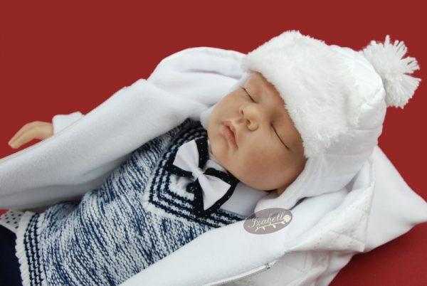 zimny komplet na krst