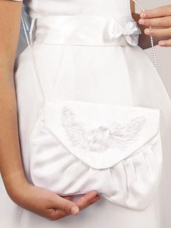 biela dievcenska kabelka