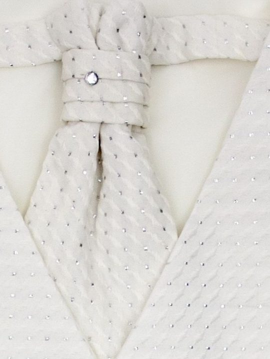 chlapcenska vesta s kravatou