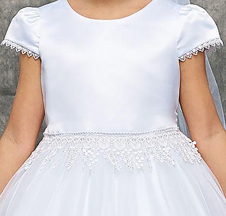 šaty na prijímanie 1 biele