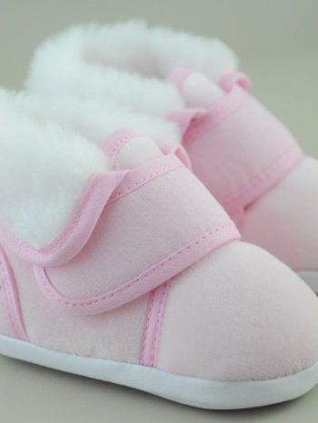 Zimné capačky Emo ružové